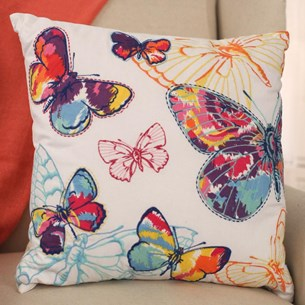 'Noosa' Butterfly Aviary Cushion
