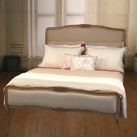 Country Linen Queen Size Bed