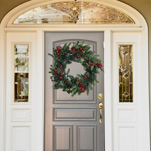 Christmas Wreath Red Berry