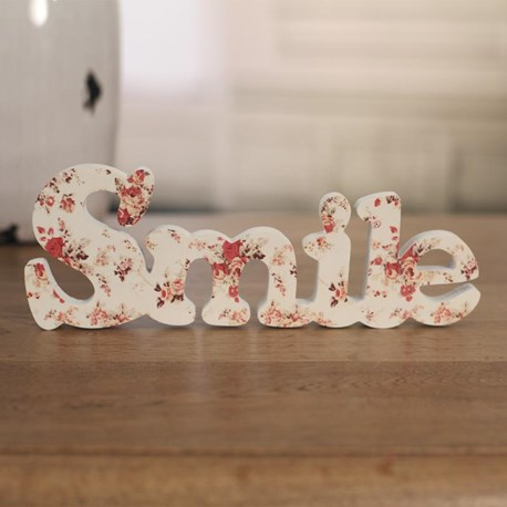 Floral Decor Words - Five to Choose From