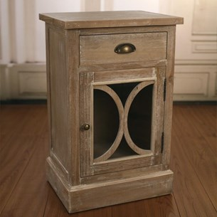 Bedside Chest One Door 'Chapel'