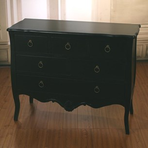 Chest of Drawers 'Midnight Black'