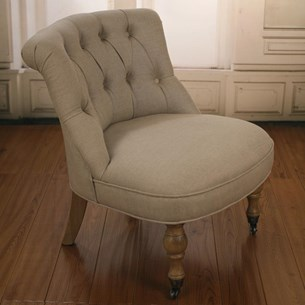 The Bedroom Chair - 100% Linen
