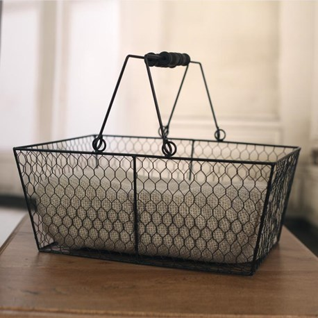 Wire Mesh Baskets - Two Sizes