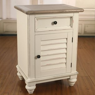Bedside Chest with Door 'Plantation'