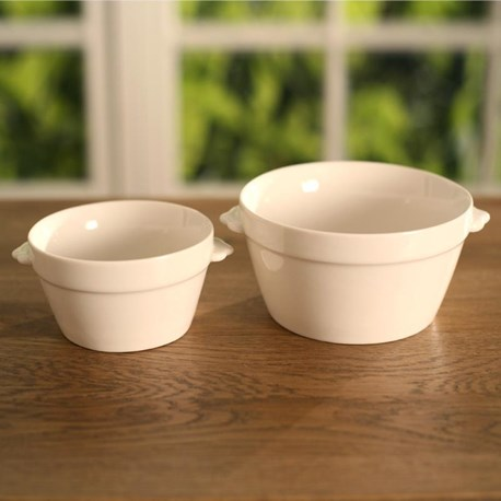 Round Serving Bowl - Two Sizes