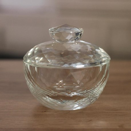 Crystal Trinket Box - 9cms