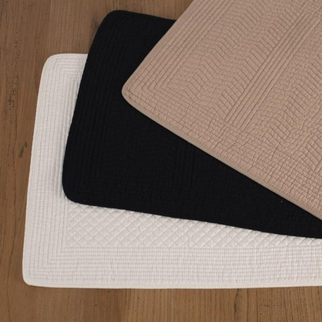 Quilted Placemats - Two Colours