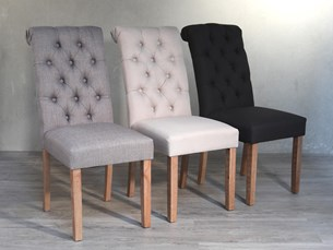 Tufted Dining Chair - 3 Colours