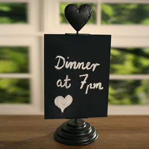 Blackboard Kitchen Messenger - Heart