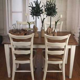 Oak/White Dining Tables - 'Orleans Collection'