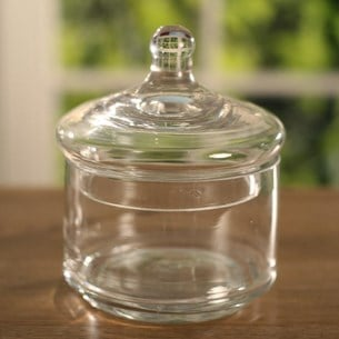 Glass Jar - 12.5cms