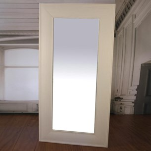 Belmont Dressing Mirror Large 1x2m - White