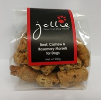 Beef, Cashew & Rosemary Morsels 200g Pouch