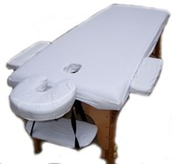 """awesome value 100%, fully tailored massage Tables fitted sheets, cotton, custom tailored for our Vitality massage tables"