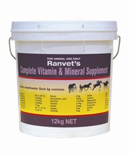 Complete Vitamin & Mineral Supplement 4kg - (Ranvet)