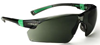 506UP UNIVET Panoramic Safety Spectacles with Anti-Scratch G15 Smoke Lens - [UV-506U.04.04.05]