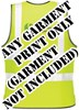 Economy EasyPrint™ - BACK PRINT - Print on any Hi Vis garment - Minimum of 12 Prints - Garment Not Included - [IH-EPBP]