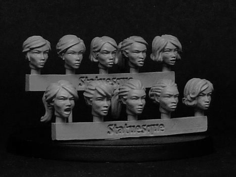 Heroic Scale Head back in stock, Resistance Sale still on!