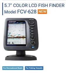 FCV-628 Colour LCD Fish Finder