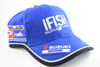IFISH Cap Tackle World With Sponsor Logos Blue/Navy