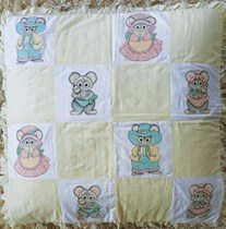 Doormice Family Quilt Blocks Set-of-8