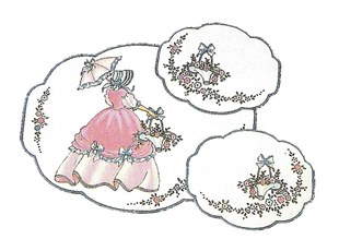 Crinoline Lady Duchess Set