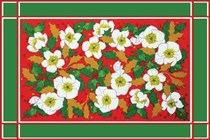 Rose & Holly Tablemat