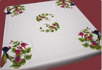 Fuchsia Tablecloth