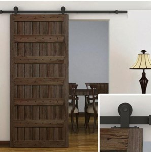 2.4M Top Mount Sliding Barn Door hardware B05