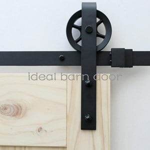 3M Side Mount Sliding Barn Door hardware  B09