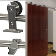 2.8M Top mounted Sliding Barn Door Hardware  S01