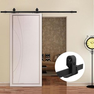 1.8M Top Mounted Sliding Barn Door hardware B01