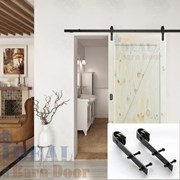 1.6M Side Mount Sliding Barn Door hardware B02