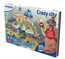 Miniland Educational Magnetic On the Go Crazy City