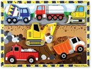 Melissa & Doug Construction Vehicles Chunky Wooden Puzzle