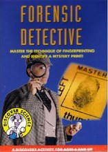 Discover Science Forensic Detective Kit