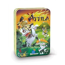 Blue Orange Games Attila Game in storage tin