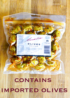 Aurelio Chilli n Garlic Olives