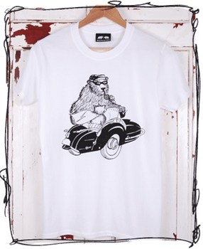 Sidekick White T-Shirt