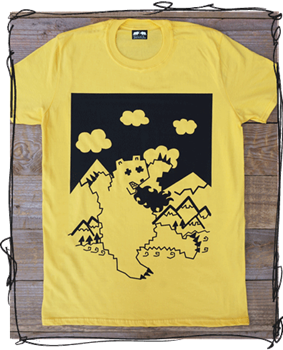 Ruuuunnnn! - Yellow, White or Charcoal Tee