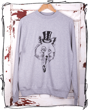 Disguise Fox Grey Jumper