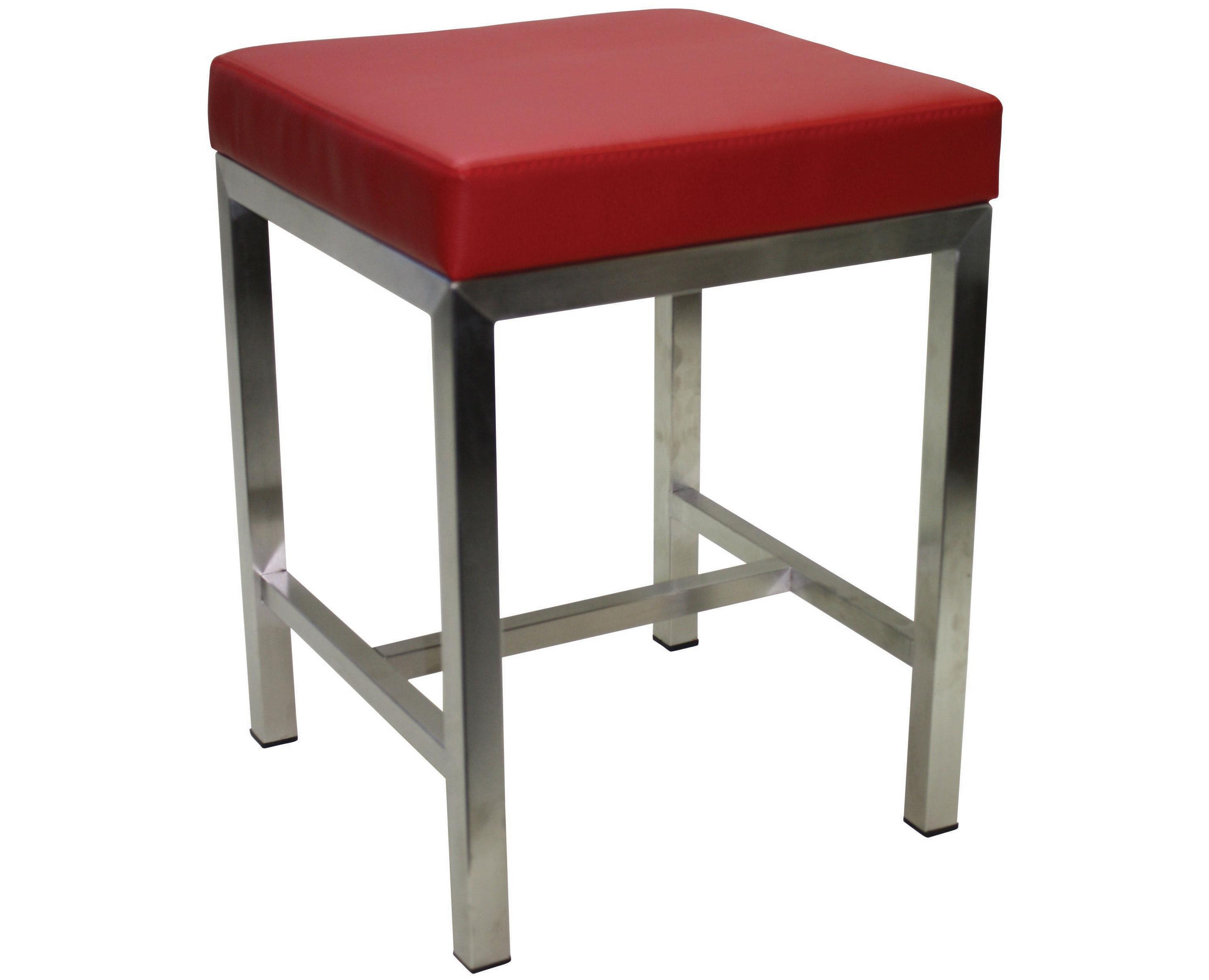 Cube Low Bar Stool Furniture For Public Spaces Street