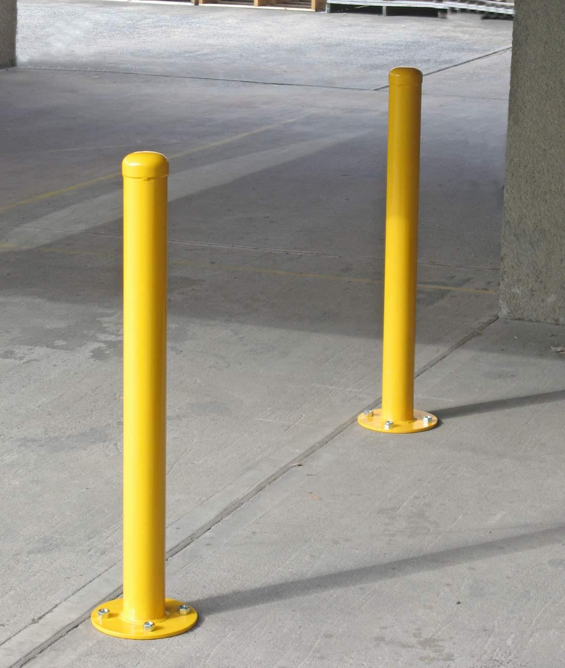 B090 Safety Bollard 90mm Dia Furniture For Public Spaces