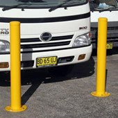 B090 Safety Bollard 140mm dia