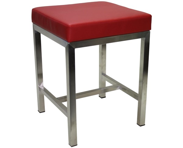 Cube Low Bar Stool