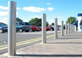 125mm Dome Top Stainless Steel Bollard
