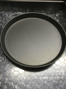 """5 X 15"""" IRON PIZZA PANS 1.5"""" FOR DEEP PAN PIZZA PROFESSIONAL QUALITY 5X15"""" PIZZA PAN"""
