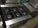 FALCON GAS COOKER 6 BURNER WITH OVEN SERVICED BAR CAFE RESTAURANT TAKEAWAY