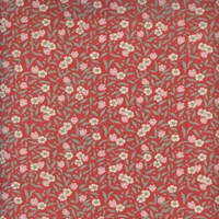 Tiny florals red 6100 D10 5